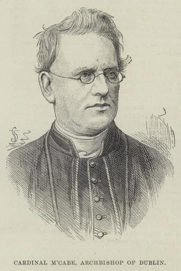 Cardinal M'Cabe, Archbishop of Dublin--Giclee Print