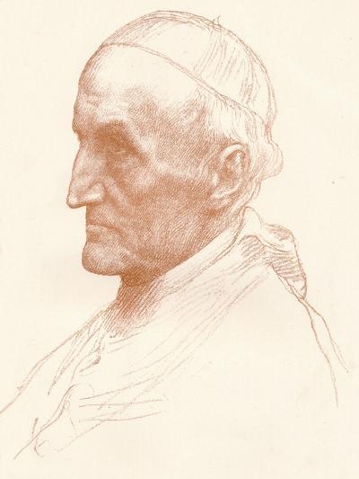 Cardinal Manning, C1857-1903-Alphonse Legros-Giclee Print