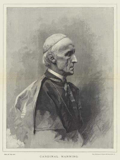 Cardinal Manning--Giclee Print