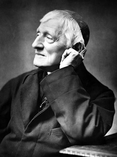 Cardinal Newman, 1887-Herbert Rose Barraud-Photographic Print