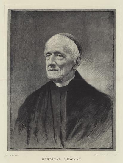 Cardinal Newman--Giclee Print