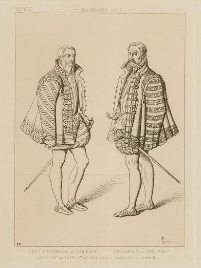 Cardinal Odet De Coligny--Giclee Print
