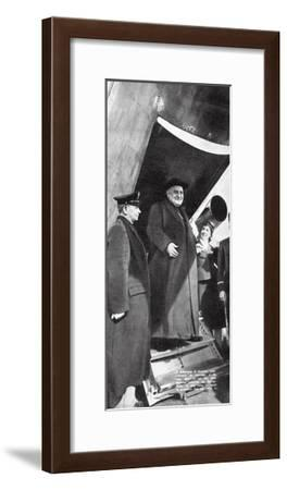 Cardinal Roncalli--Framed Giclee Print