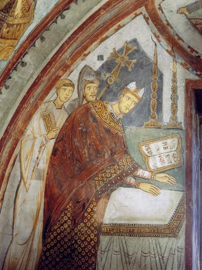 Cardinal Ugolino Di Ostia (Later Pope Gregory Ix), Consecrating the Chapel, St. Gregory's Chapel,…--Giclee Print