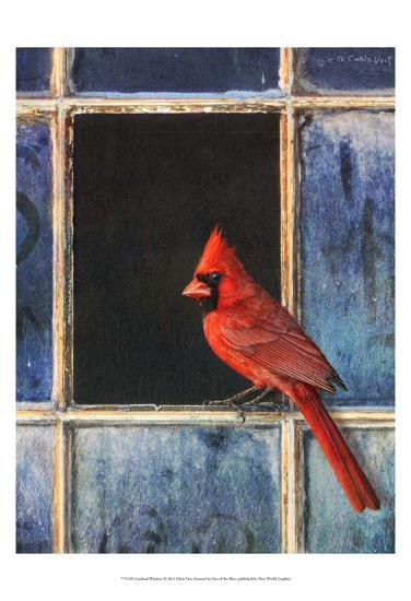 Cardinal Window-Chris Vest-Art Print