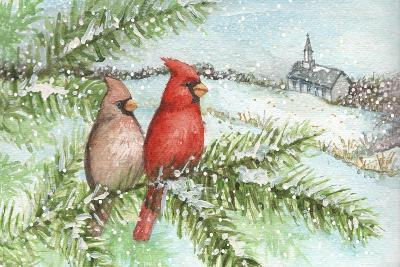 Cardinal Winter-Melinda Hipsher-Giclee Print