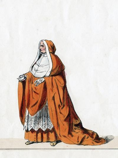 Cardinal Wolsey, Costume Design for Shakespeare's Play, Henry VIII, 19th Century--Giclee Print
