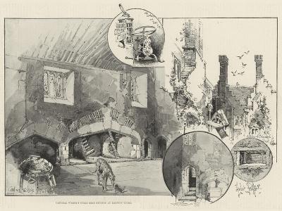 Cardinal Wolsey's Great Meat Kitchen at Hampton Court-Herbert Railton-Giclee Print