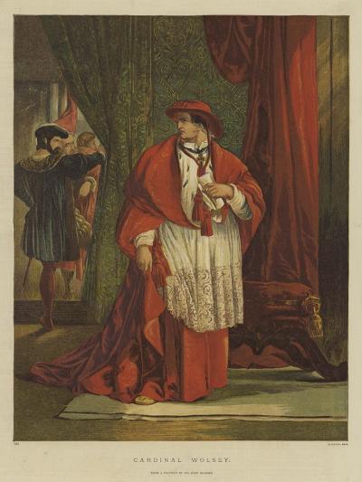 Cardinal Wolsey-Sir John Gilbert-Giclee Print