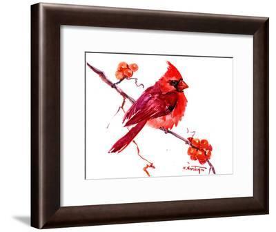 Cardinal-Suren Nersisyan-Framed Art Print