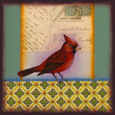 Cardinal-Rachel Paxton-Giclee Print