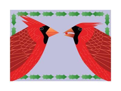 Cardinals Holly-Marie Sansone-Giclee Print