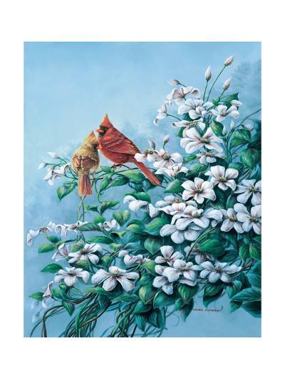 Cardinals-Wanda Mumm-Giclee Print