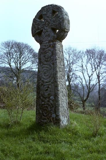 Cardinham Cross, 10th century-Unknown-Photographic Print