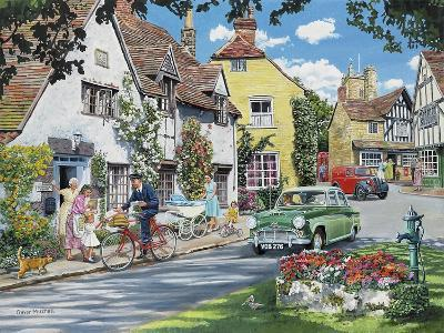 Cards for a Birthday Girl-Trevor Mitchell-Giclee Print