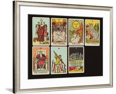 Cards from a Tarot Set, C.1809--Framed Giclee Print