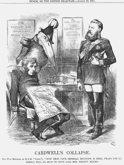 Cardwell's Collapse, 1871-Joseph Swain-Giclee Print
