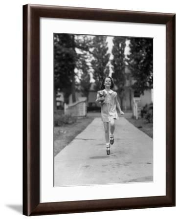 Carefree Girl-H. Armstrong Roberts-Framed Photographic Print