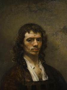 Self-Portrait, C. 1645 by Carel Fabritius