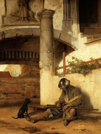 The sleeping sentinel (1654).