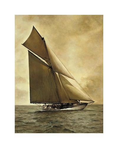 Caress, 1895-William Matthews-Giclee Print