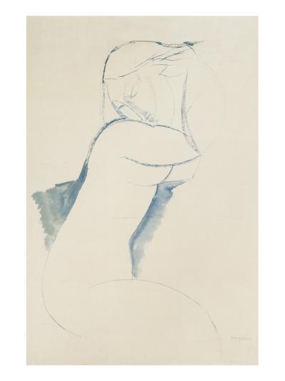 Cariatide-Amedeo Modigliani-Premium Giclee Print