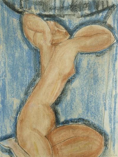 Cariatide-Amedeo Modigliani-Giclee Print