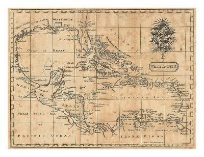 Caribbean, 1806-Andrew Arrowsmith-Art Print