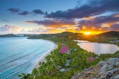 Caribbean, Antigua, Galley Bay, Galley Bay Beach, Sunrise-Alan Copson-Photographic Print
