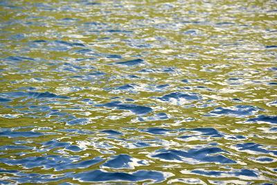 Caribbean, British Virgin Islands, Peter Island. Water Patterns-Kevin Oke-Photographic Print