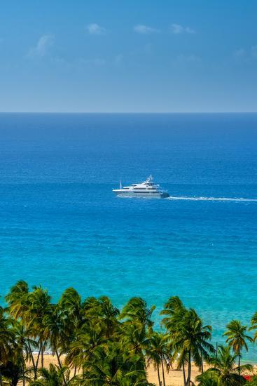 Caribbean, British Virgin Islands, Tortola, Lambert Bay, Lambert Bay Beach-Alan Copson-Photographic Print