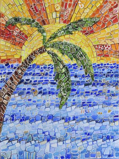 Caribbean Day-Charlsie Kelly-Giclee Print