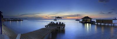 Caribbean, Netherland Antilles, Bonaire, Beach Resort-Michele Falzone-Photographic Print