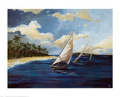 Caribbean Paradise II-Trevor Green-Art Print