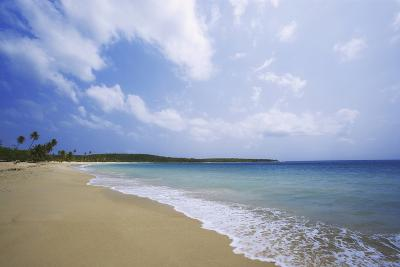 Caribbean, Puerto Rico, Vieques Island. Surf at Red Beach-Jaynes Gallery-Photographic Print
