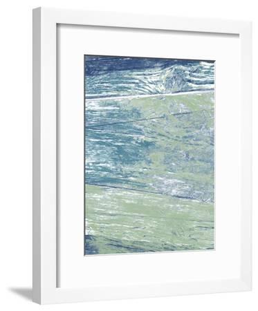 Caribbean Sea-Sheldon Lewis-Framed Art Print