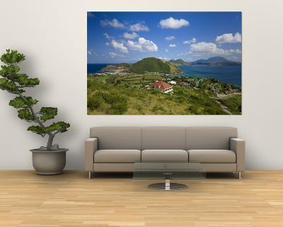 Caribbean, St Kitts and Nevis, St Kitts, Frigate Bay-Gavin Hellier-Wall Mural