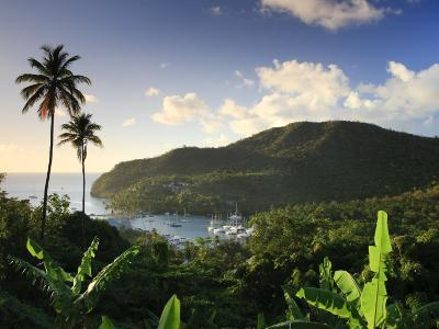 Caribbean, St Lucia, Marigot Bay and Harbour-Michele Falzone-Photographic Print