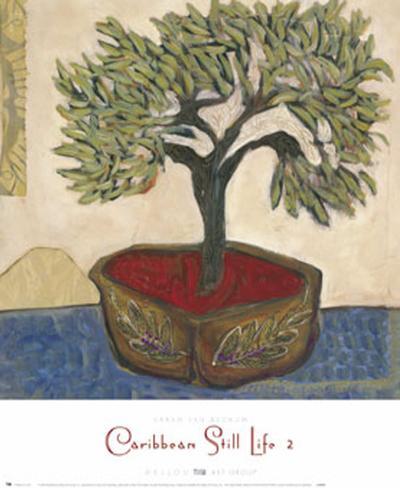 Caribbean Still Life II-Sarah Van Beckum-Art Print