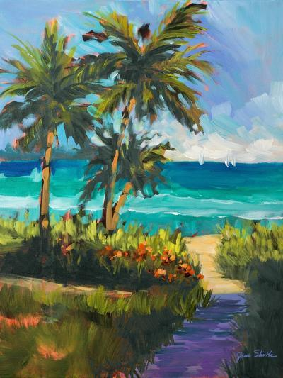 Caribbean View II-Jane Slivka-Premium Giclee Print