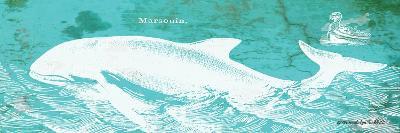 Caribbean Whale II-Gwendolyn Babbitt-Art Print