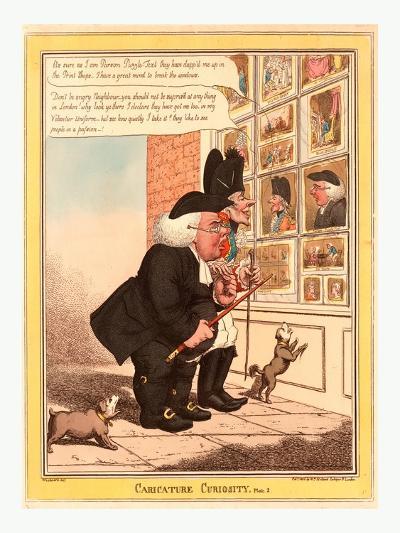 Caricature Curiosity--Giclee Print