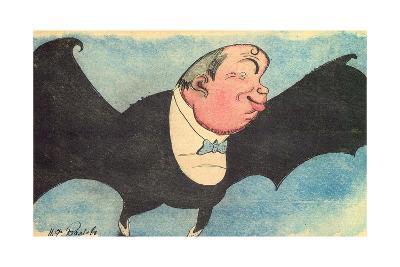 Caricature Portrait of Nikita Balieff, 1925-Nikolay Vladimirovich Remizov-Giclee Print