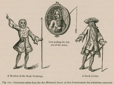 Caricature Taken from the Arc Memorial Dresse Au Lieu D'Enterrement Des Actionistes Consumes--Giclee Print