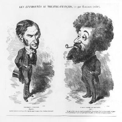 Caricatures of Vernouillet the Intriguing-M. Marcelin-Giclee Print