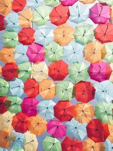 Portugal Umbrella 2 by Carina Okula