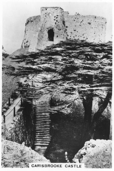 Carisbrooke Castle, Isle of Wight, 1937--Giclee Print