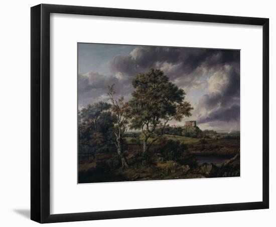 Carisbrooke Castle, Isle of Wight-Patrick Nasmyth-Framed Art Print