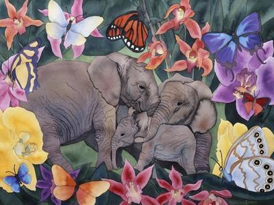 Elephants and Butterflies