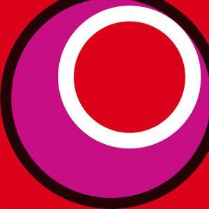 Circles and Colors (Red), 2013 by Carl Abbott